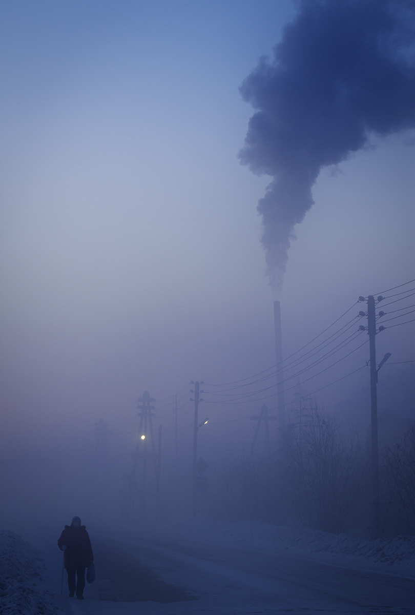 Russian Winter pollution