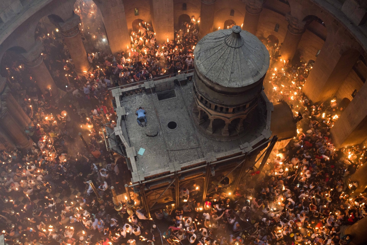 Holy Fire - the Church of the Holy Sepulchre