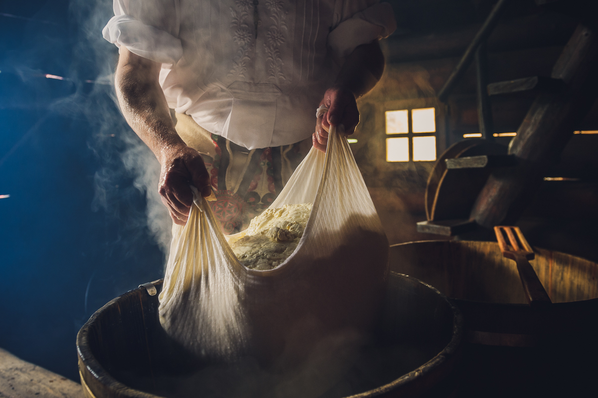 Regional cheese making process