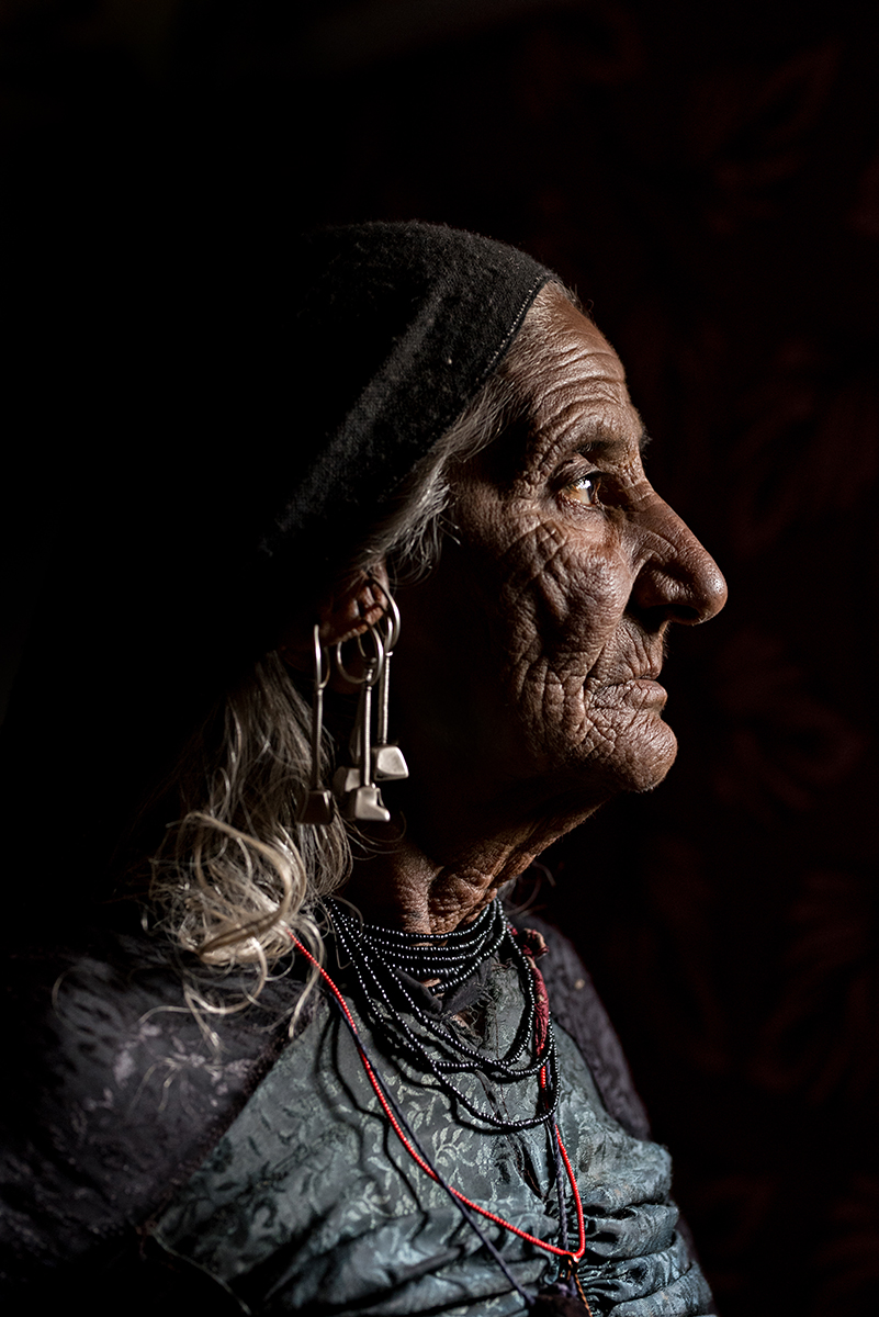 OLD RABARI WOMAN