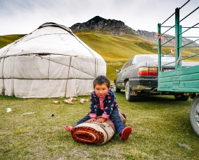Scenes of People, Kyrgyzstan - Djailoo