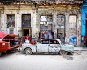 Kaleidoscope: Shifting shades of Havana.