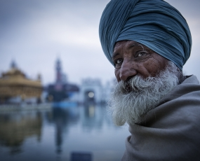 Sikh at the Golden Temple
