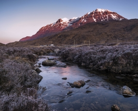 A cold morning in Wester Ross