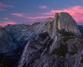 Half Dome After Sunset